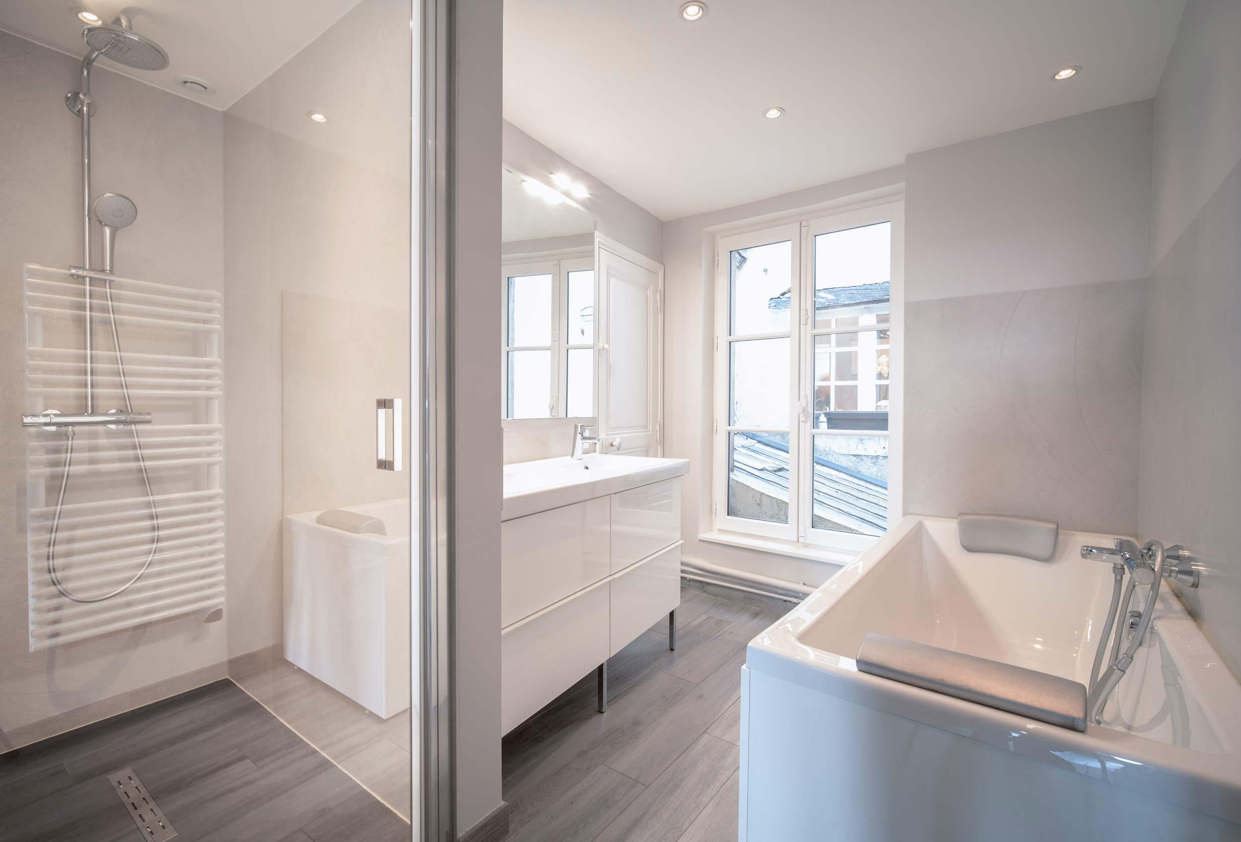 Rénovation appartement Blois - après travaux