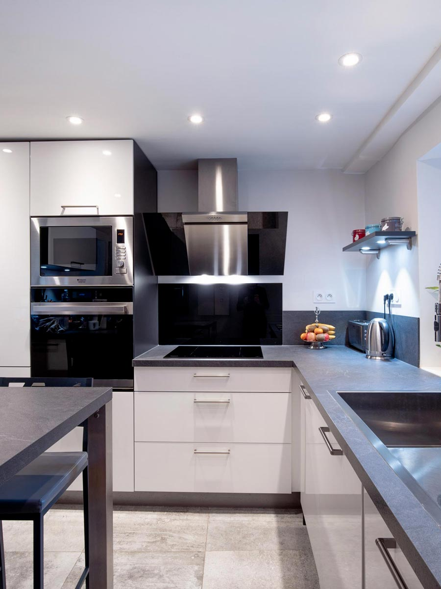 Rénovation complète d'un appartement à Blois