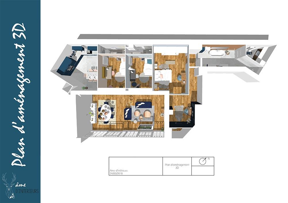 Ame d'intérieurs étudie votre projet d'aménagement intérieur