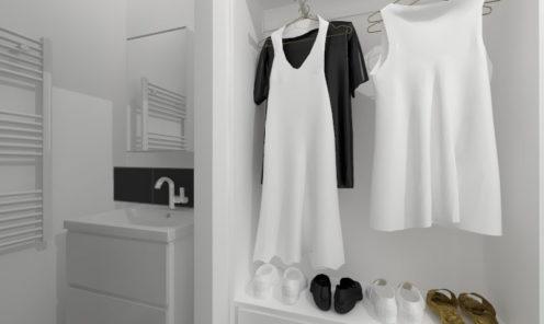 Dressing décoration intérieure appartement blois